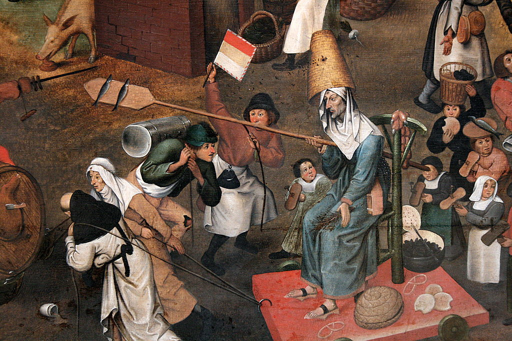 Lent (detail), by Pieter Brueghel the younger