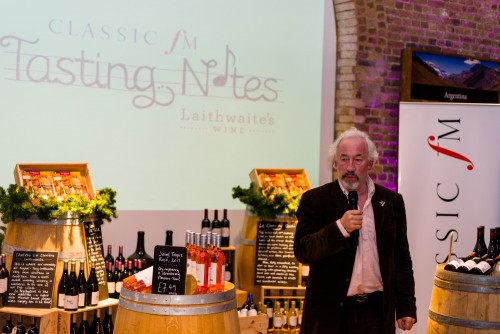 "Simon Callow introduces ""Tasting Notes"""