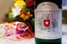 Apostelhoeve, Louwberg Maastricht, Riesling 2010, label
