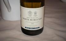 Bigham's food and wine dinner - Berry Bros & Rudd wine