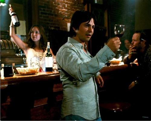 Eliza Dushku (Joe) and passionate winemaker Brambila (Rodriguez)