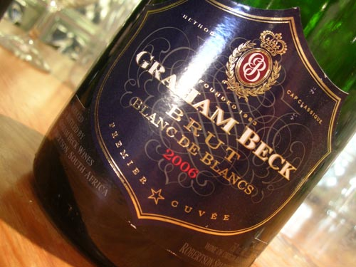 Graham Beck Blanc de Blancs