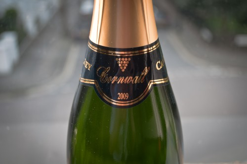 sparkling wine from Cornwall