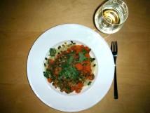 Chilli carrot pasta
