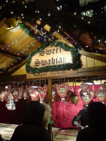 Sweet Swabian Christmas Market stand, Chicago
