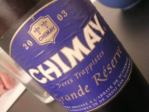 Chimay Grande Réserve 2003
