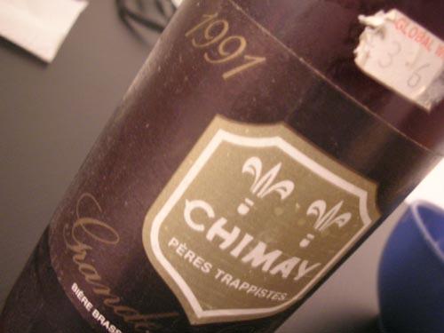Chimay Grande Réserve 1991