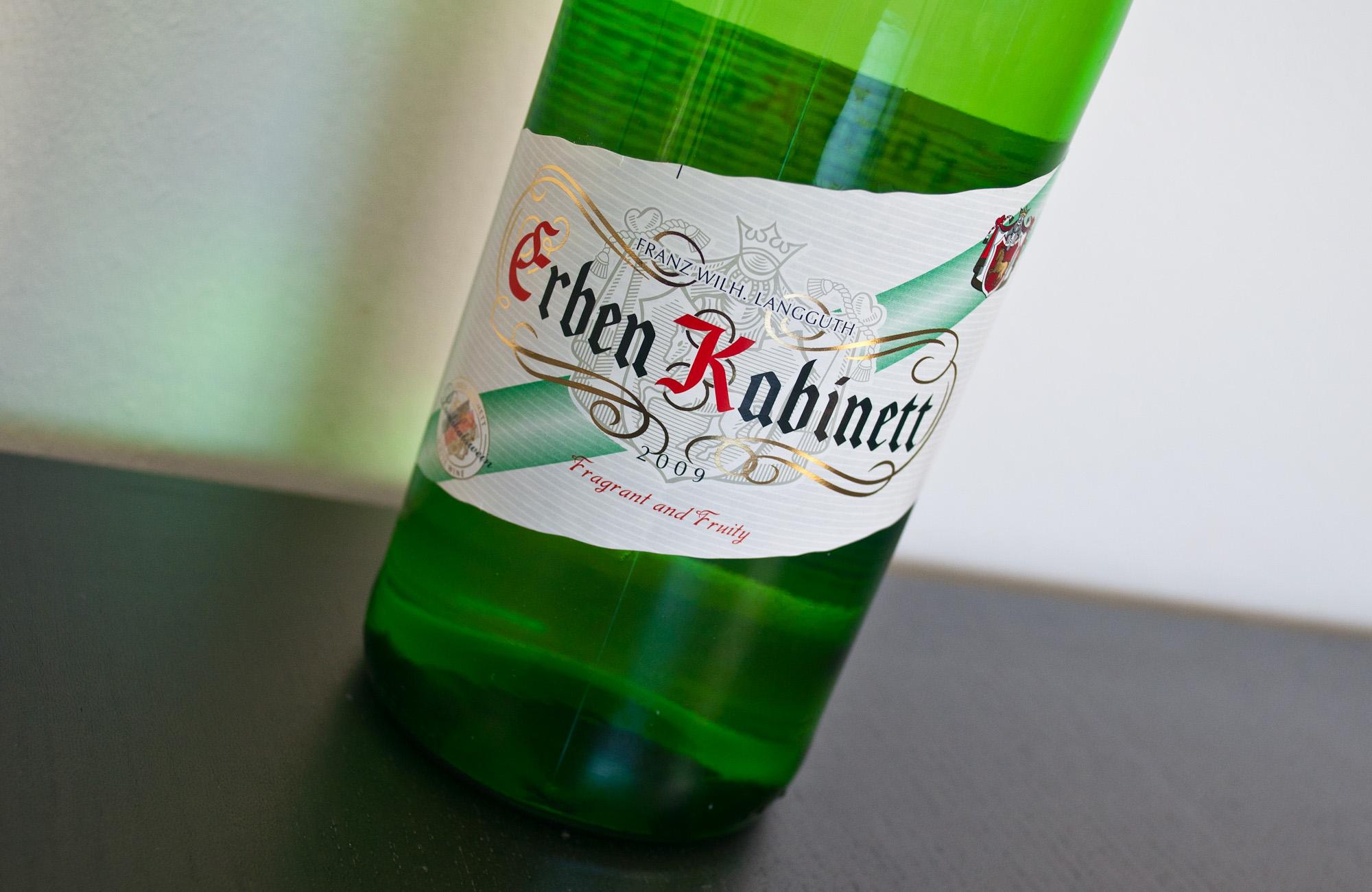 F. W. Langguth Erben Kabinett, 12   The Wine Rambler