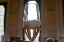 Ridgeview pink sparkler at EWP tasting 2011