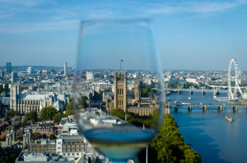 London through a wine glass