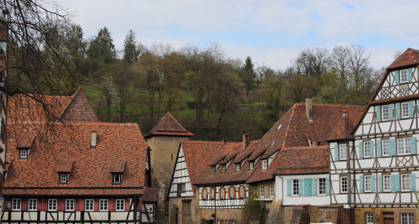 Around the courtyard of Maulbronn abbey