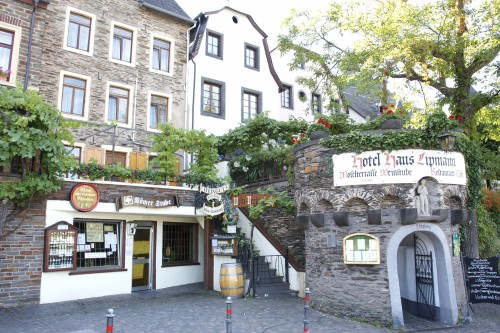 Hotel Haus Lipmann, our base in the Mosel