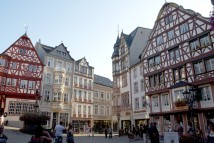 Market square in Bernkastel, by Molly Hovorka