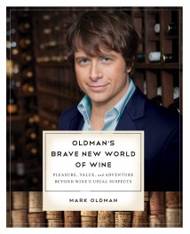 Mark Oldman's Brave New World of Wine, cover