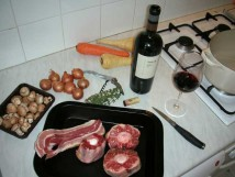 Malbec and oxtail