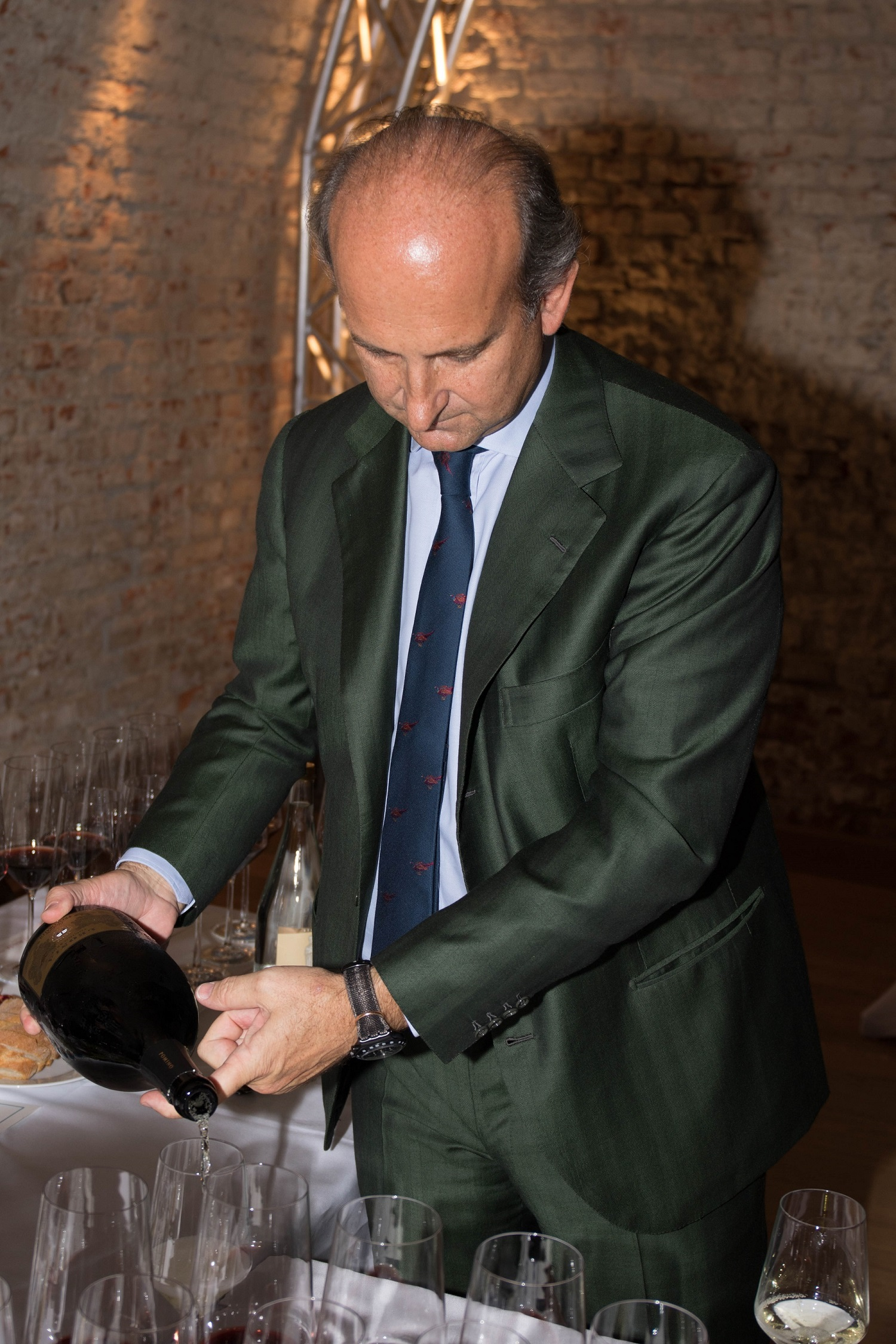 The noble touch - Marchese Lamberto de' Frescobaldi