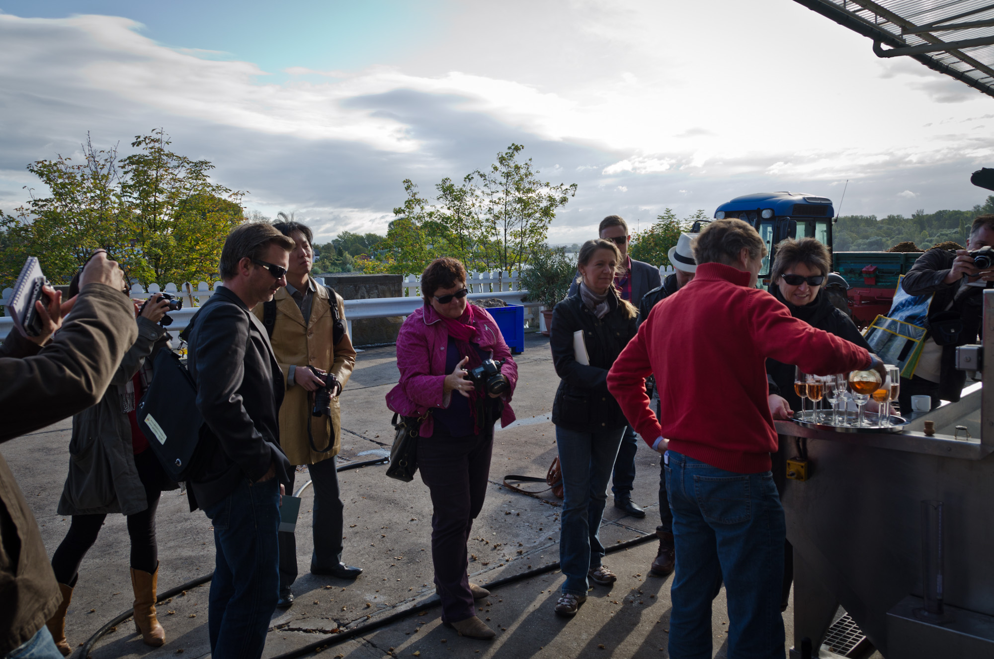 What is and who goes on a wine press trip? Wine Rambler on