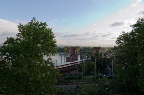 view from my Mainz hotel room
