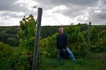 Michael Teschke between his vines