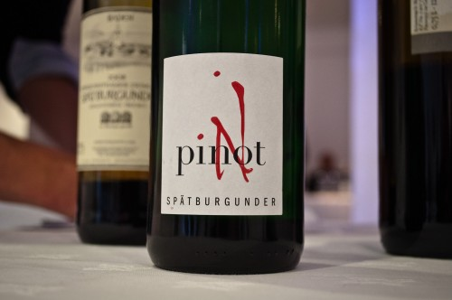 """pinot N"" - dressed to sell Spätburgunder to the UK?"