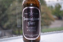 Samichlaus lager bottle