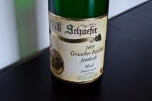 Willi Schaefer, Graacher Riesling feinherb, 2009, label