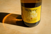 Mainzer St. Alban Spätlese 2009, label