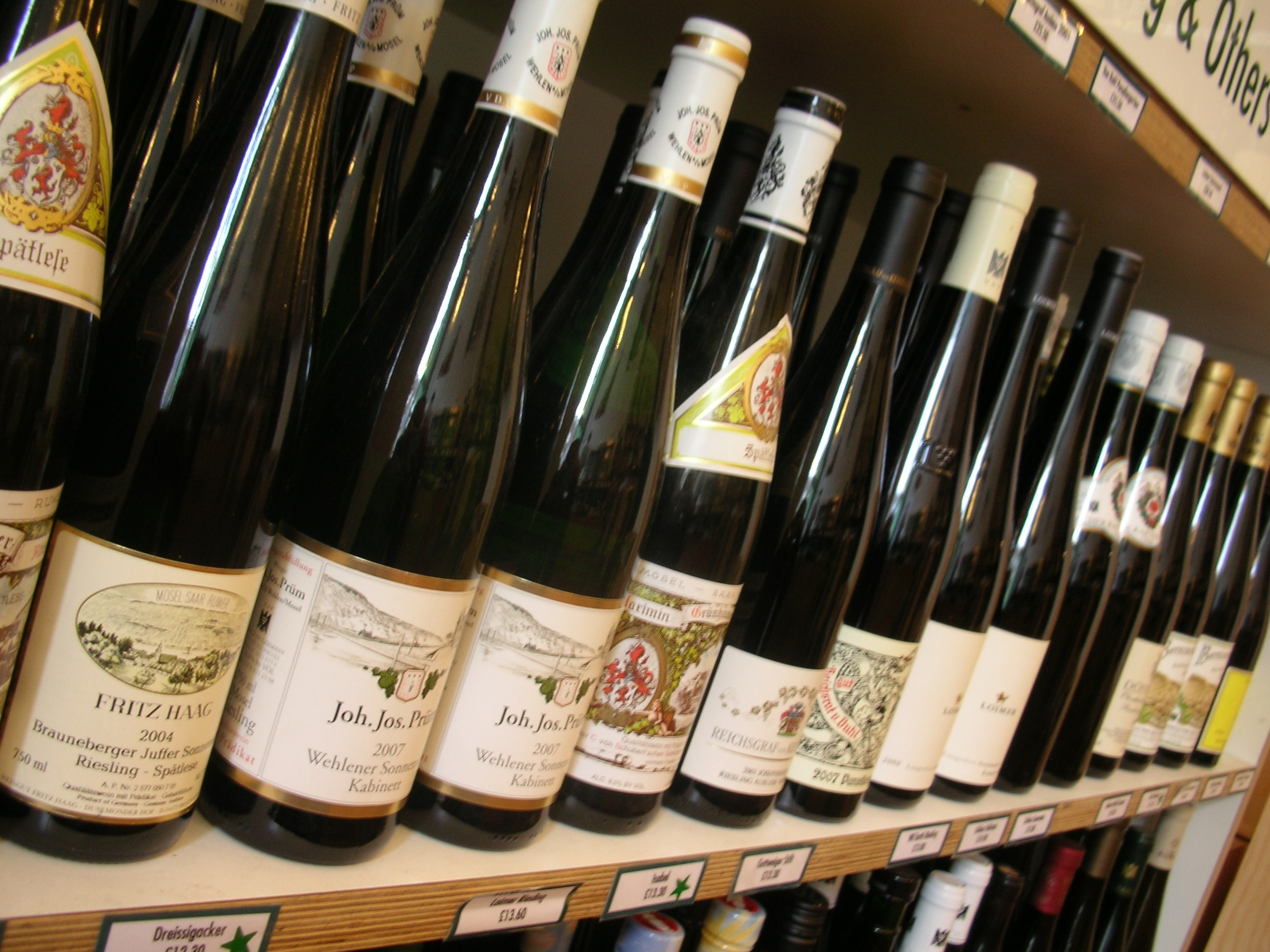 German Riesling at the Sampler