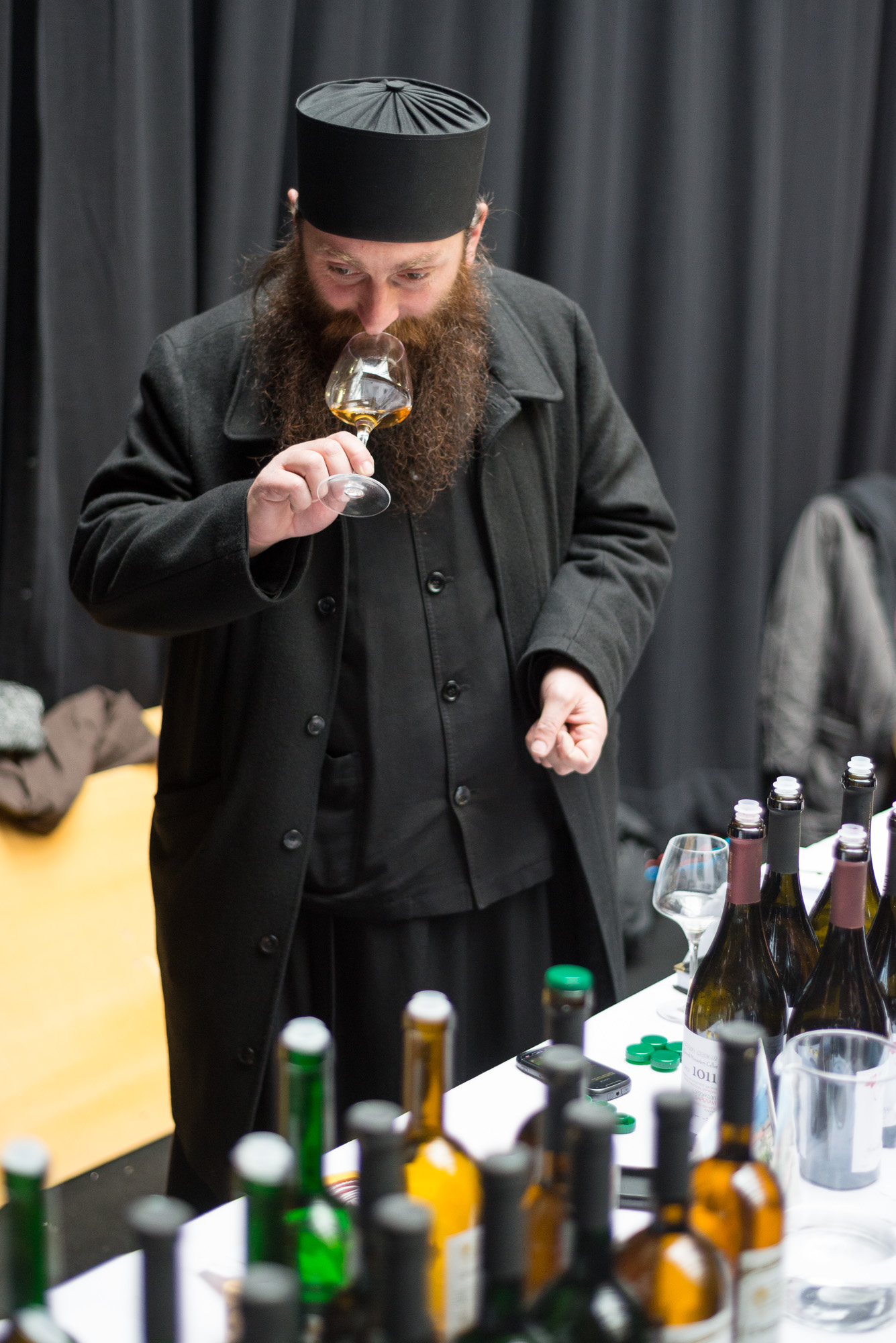Georgian winemaking monk