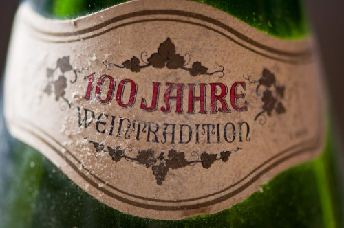 """100 years of wine tradition"""